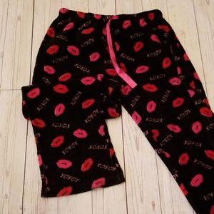 🌹3/$24🌹MIX & CO XOXO KISSES SOFT LOUNGE PANTS